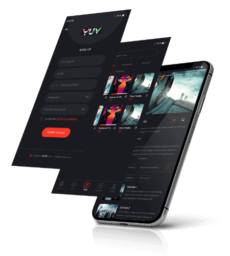 Request a demo | YUV TV