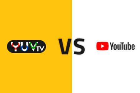 YUV TV vs YouTube