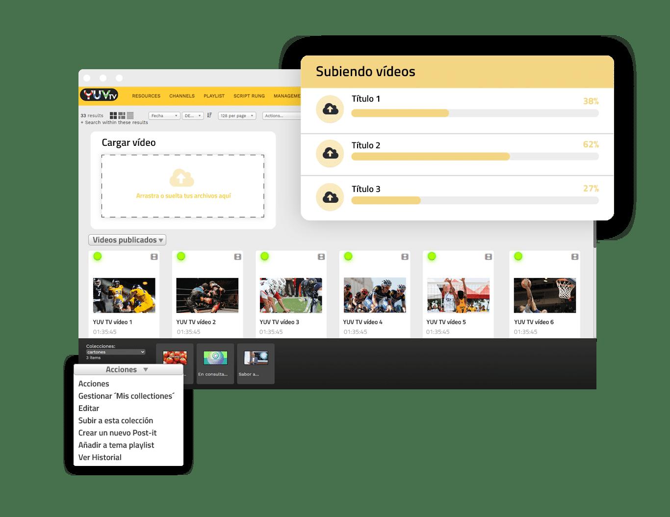 Localiza el documento deseado   YUV TV